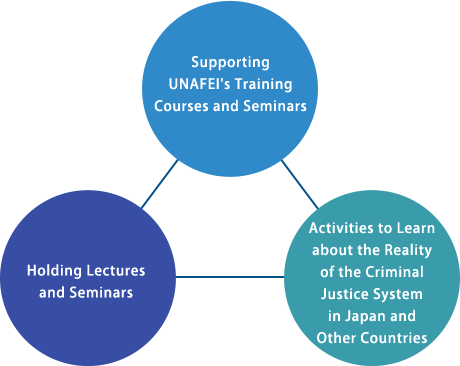 The Three Pillars of the ACPF Activities
